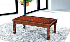 Brown Coffee Table MDF Solid Made with High Quality Gloss Finish Top Express