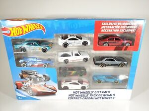 Hot Wheels 9 Car Gift Pack! - Exclusive Decoration Charger R/T JDM Set NEW NIB
