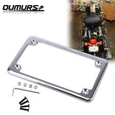Semoic Universal CNC Motorcycle Adjustable Angle Aluminum alloy License Number Plate Frame Holder Bracket