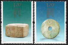 China - 2011-4 Liangzhu Jade, stamp set of 2, Mint Nh