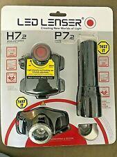 Led  Lenser  H7.2 headlamp + P7.2 torch