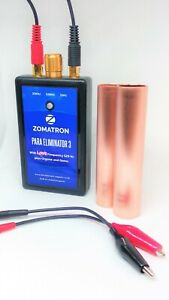 DOCTOR HULDA CLARK'S ZAPPER BY ZOMATRON PARA ELIMINATOR 3 WITH THE 528 LOVE FREQ