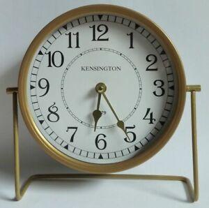 Kensington Station 1879 London - Nostalgie Tisch Uhr / Standuhr zum Hinstellen