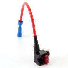 New listing 10A Add-a-Circuit Fuse Tap-Micro Auto Mini Piggy Back Fuse Holder 4Pcs Good #wh