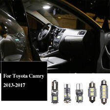 Full Set Canbus LED Interior Map Dome Trunk Light Bulbs For Toyota Camry 2013-17