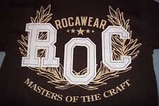 Rocawear R O C Masters Of The Craft T-Shirt Womans Girls Large 14/16