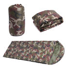 Tactical Envelope Sleeping Bag Camo Camping Comforter Portable Hiking Sleep Bag