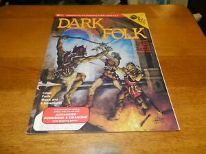 1983 Dark Folk Role Aids Adv. Dungeons and Dragons Book