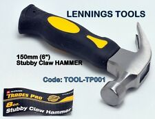 LENNINGS TOOLS - STUBBY CLAW HAMMER 150mm - 1pc (TOOL-TP001)