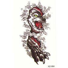 Temporäre Tattoos Wolf Design Temporary Körperkunst Klebetattoo