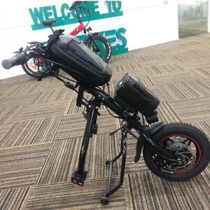 CNEBIKES 36V/350W 11.6ah Attachable 12in Electric Handcycle Scooter Wheelchair