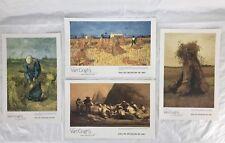 Dallas Museum Of Art Van Gogh Sheaves Of Wheat Exhibition Art Print Lot Of 4