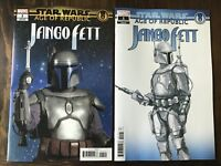 Star Wars Age of Republic: Jango Fett 1:10 Movie Variant & Design Variant NM