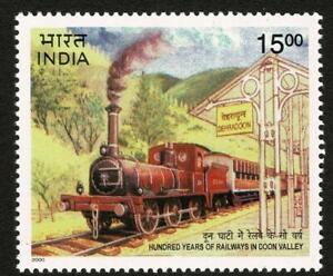 INDIA 2000 Doon Valley Railway Transport Railroad Dehradun Train - MUH