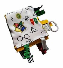 Wizard Baby Tag Blanket for Harry Potter Baby Nursery. Teach baby about Wizar.