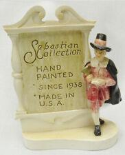 Sebastian Miniatures Collection Advertising Sign Plaque Figurine 1979 Auto -H5