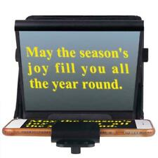 """7"""" screen-DSLR - Video Teleprompter for iPhone/PC/Android Smartphone- Hq"""