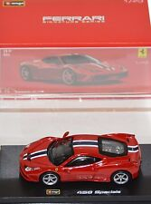 Bburago - 18-36901 - Ferrari 458 Speciale Signature Series Scale 1:43 - Red
