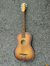 Vintage '60s Beltone Egmond Parlor Guitar w/ Tilt Adjust Neck!  GREAT POTENTIAL!