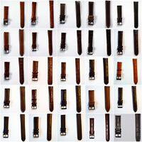 Neu Uhrenarmband Leder Elysee Uhrenband 14mm 16mm 18mm 19mm 20mm 21mm 22mm 24mm
