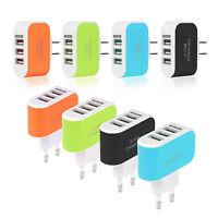 eg _ 3.1a Triple USB 3 puertos PARED CARGADOR AC Adaptador para Samsung Iphone