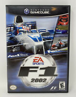 F1 2002 (Nintendo GameCube GC, 2002) Complete Tested Working RARE HTF