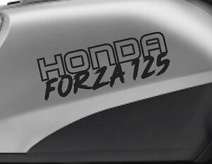 HONDA FORZA 125 motorbike bike logo decals CUSTOM COLOUR Vinyl Sticker