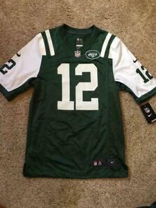 $100 Joe Namath New York Jets Jersey by Nike NFL On Field Apparel #12 XL Defects