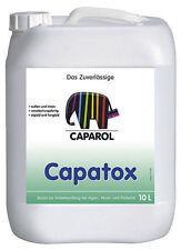 10 ltr. Caparol Capatox Algen- und Pilzentf Biozid-Lösung transparent € 9,99 - L