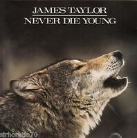 JAMES TAYLOR Never Die Young CD