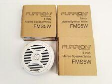 "NEW! LOT OF 4 FURRION 5"" MARINE SPEAKER, 30W, WHITE, FMS5W, BOAT / RV / CAMPER"