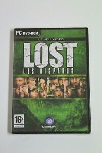 Lost Les Disparus Game PC IN French, New IN Blister