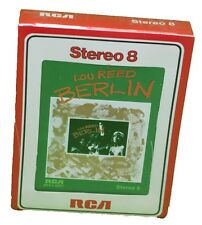 Lou Reed 8 Track Tape Cartridge Berlin 1973 Sealed RCA Rock Music New Old Stock