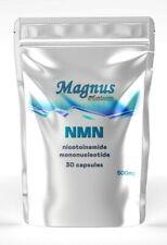 NMN Nicotinamide Mononucleotide NAD+ 30 Capsules 500 mg, Magnus Platinum