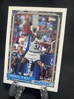Shaquille SHAQ O'Neal Rookie Card 1992-93 Topps #362 RC 92 Draft Pick HOF 🔥📈🔥