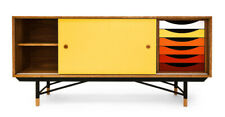 COLOUR THEORY  Media Sideboard  Mid Century Modern Credenza Style  FREE SHIPPING