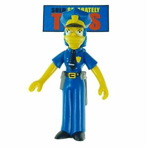 The Simpsons OFFICER MARGE police Playmates Series 7 action figure figurine