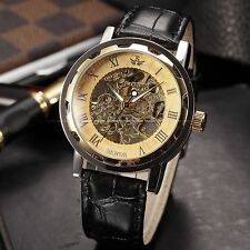 Mechanical (Hand-winding) Unbranded Luxury Wristwatches