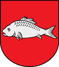 Wappen von Laboe Bügelbild Markenqualität Aufbügler