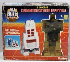 Vintage Tonka Go Bots GoBots 3-in-One Communication System Robot Intercom