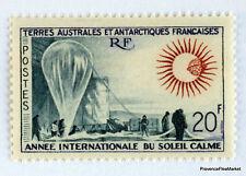TAAF T.A.A.F  1963 ANNEE DU SOLEIL CALME    Yt  N° 21 - neuf** luxe 57MA60