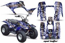 Atv Kit Graphique Quad Autocollant pour Yamaha Breeze 125 89-04 Chapelier S de U