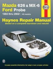 1993-2002 Mazda 626, MX-6, Ford Probe Haynes Repair Service Workshop Manual 9805