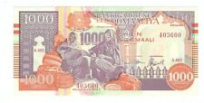 Stunning MINT 1990 Somaliland 1000 shilling note UNC Read description! world lot