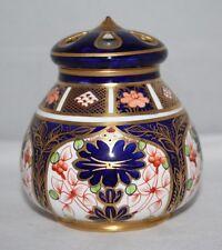 Royal Crown Derby - Imari 1128 - Lidded Pot Pourri - 1910 - vgc