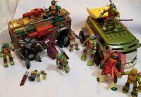 Vintage TMNT Teenage Mutant Ninja Turtles Figurines & Vehicles Lot  90s & 2000s