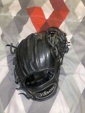 Black Leather Wilson A1k, Hardly used and ready to go. Broken in really good.
