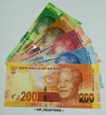 BANKNOTE, BILLET- Afrique du Sud 10; 20; 50; 100; 200 Rand, ND (2012-2016) #7B01