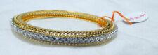Diamond Bangle 18 K Yellow Gold Hallmarked 6.24 cts Diamond