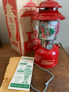 Coleman lantern 200a New In Box June 1969 (6 69)